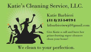Katie's Cleaning Service - Business Card