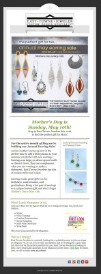East Towne Jewelers - Email Marketing