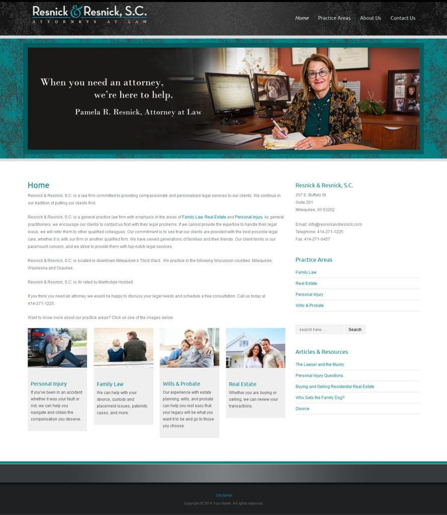 Resnick & Resnick website