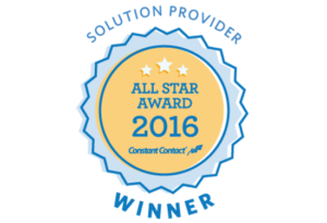2016 Constant Contact All Star Solution Provider | EVH Marketing