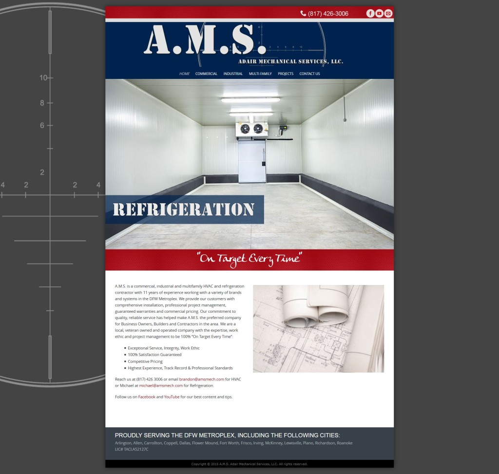 AMS Mechanical website