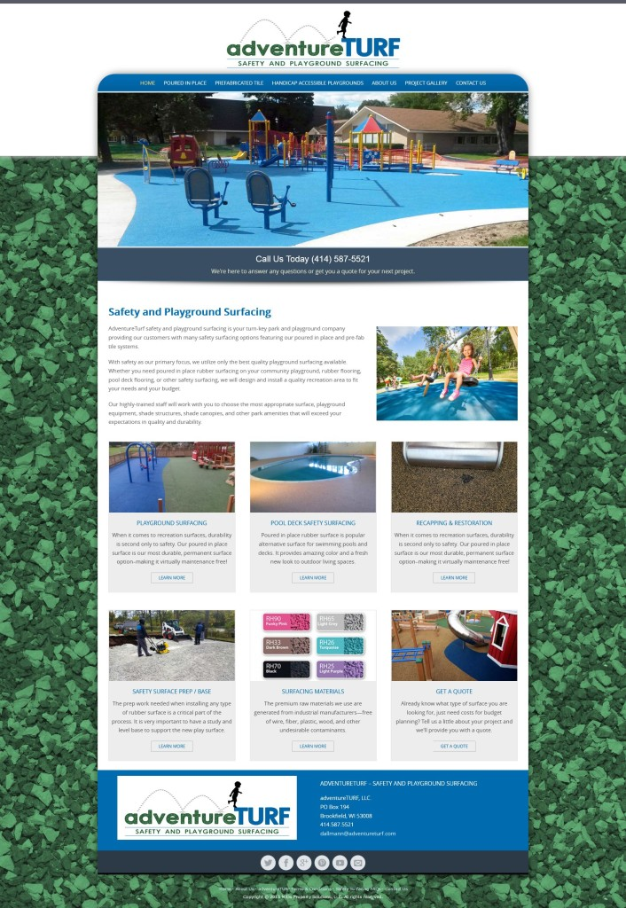 adventureTURF website