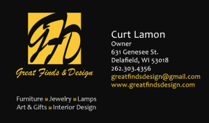 Great Finds & Design - Business Card