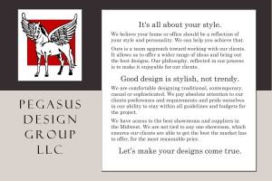 Pegasus Design Group - Post Card