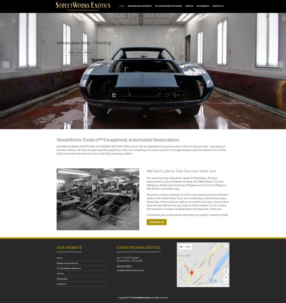 StreetWorks Exotics Car Restoration
